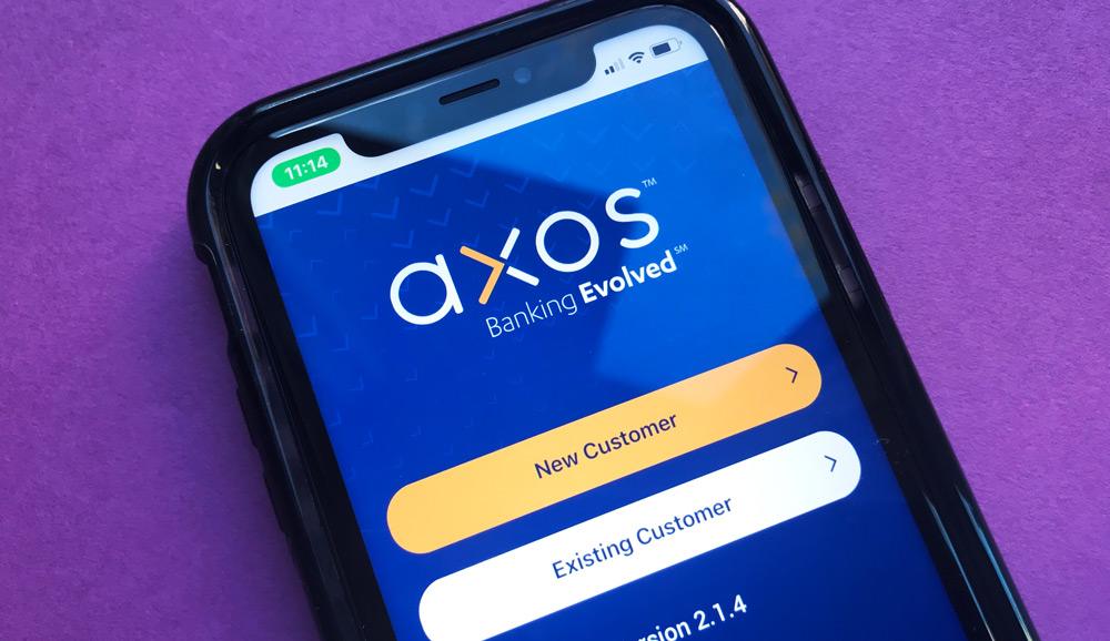 Axos Bank iPhone App