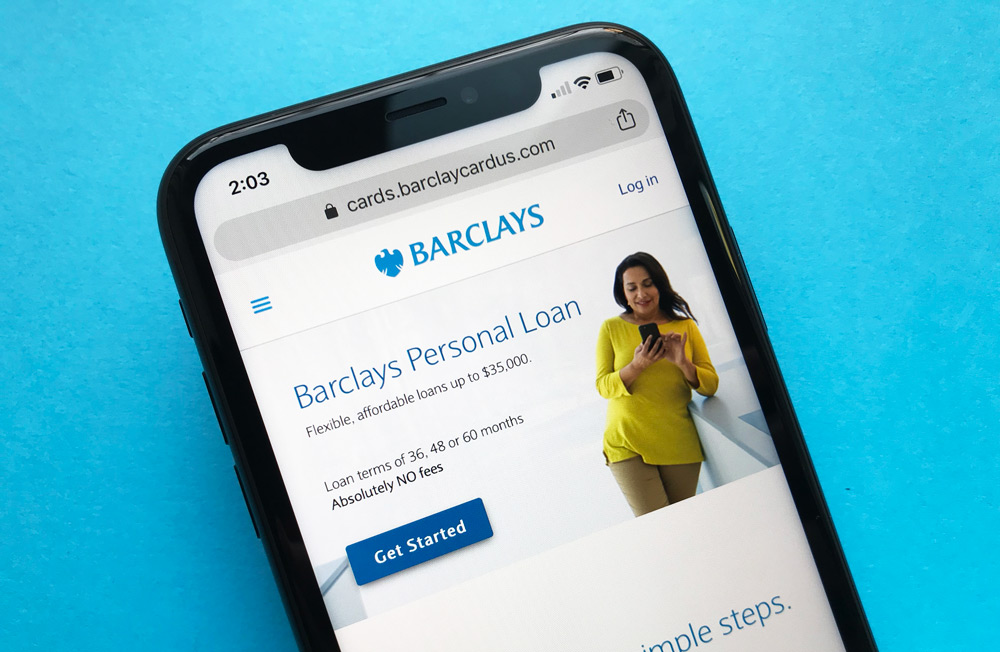 Barclays Personal Loans Website