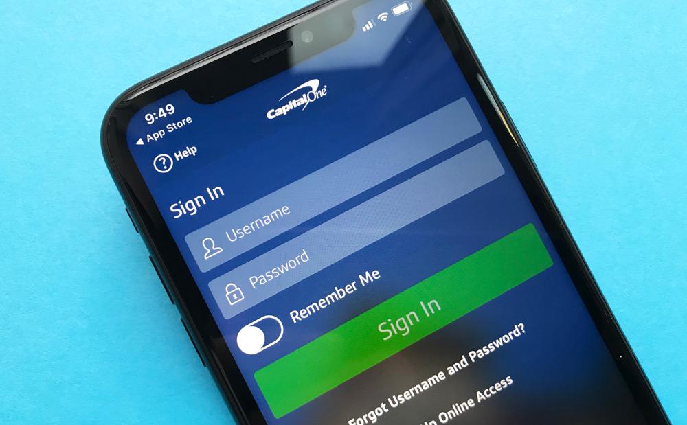 Capital One 360 iPhone App