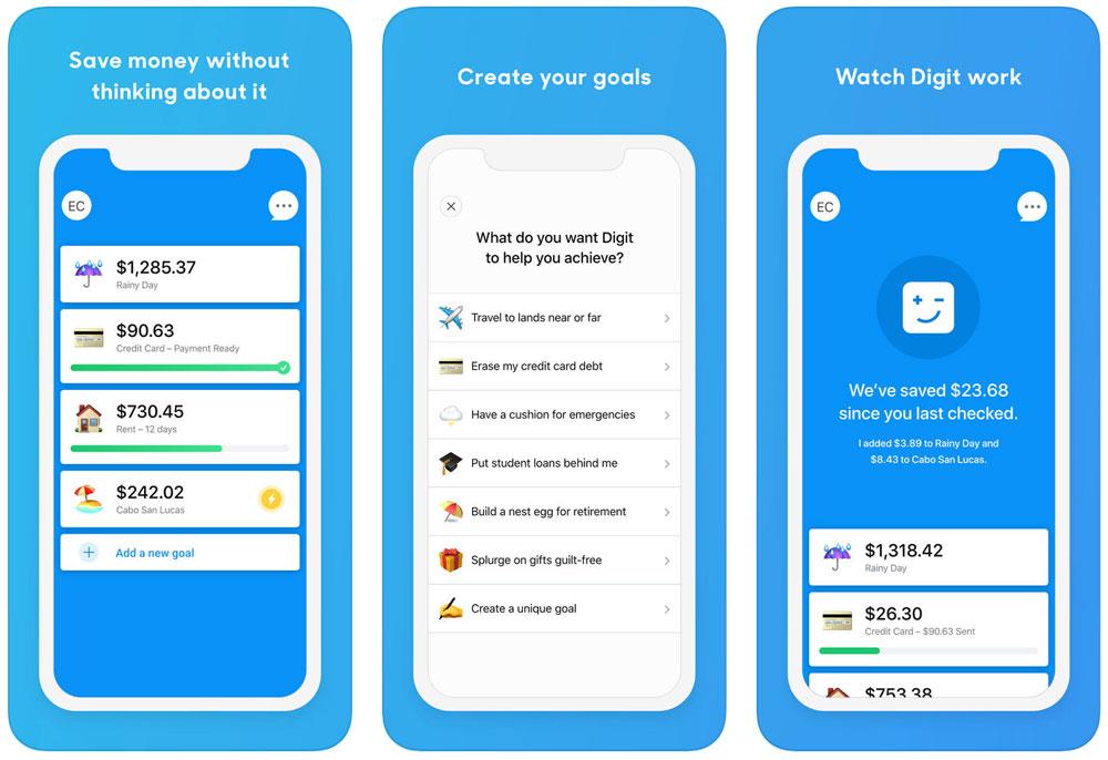 Digit iPhone App