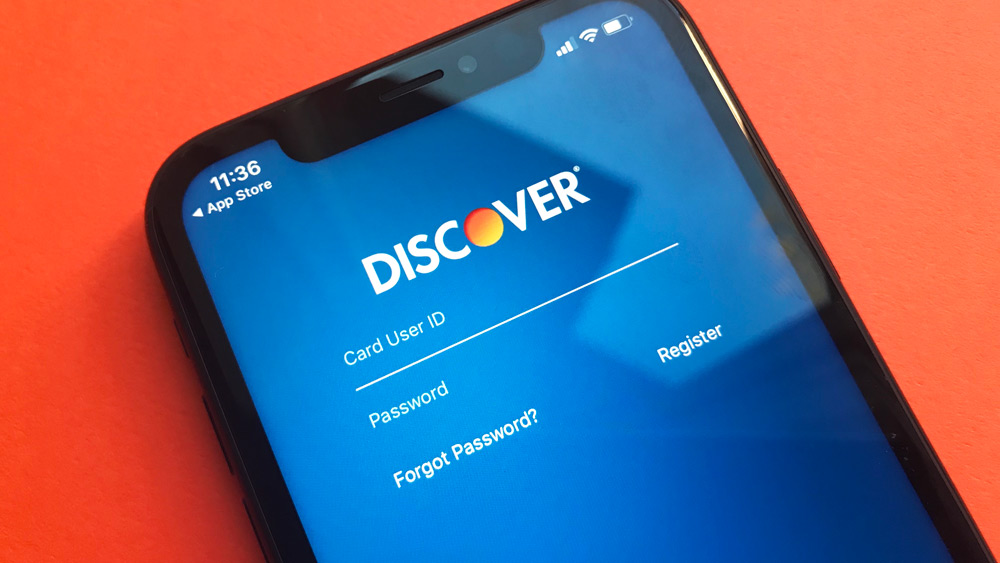 Discover Bank iPhone App
