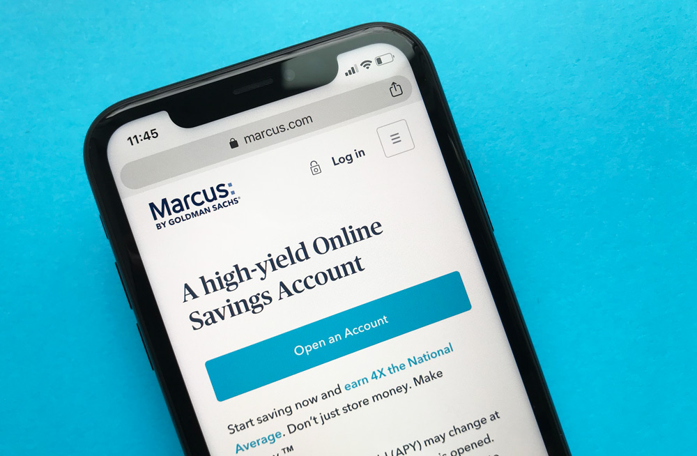 Marcus by Goldman Sachs Savings Account Website