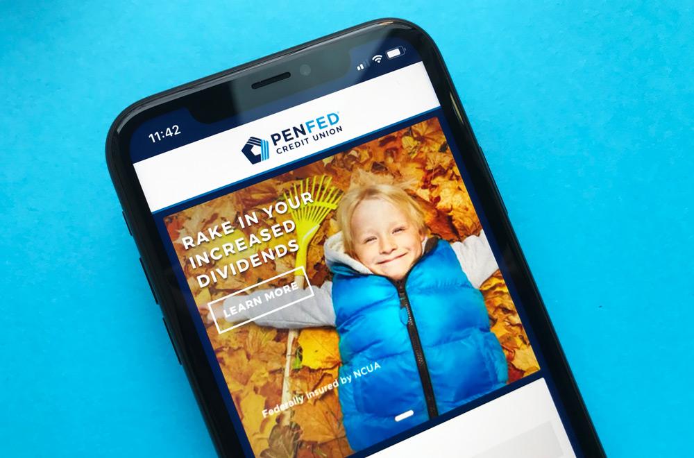 PenFed Credit Union iPhone App
