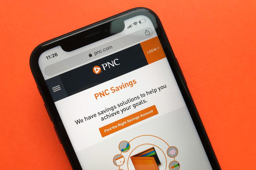 PNC Bank Savings Account Website