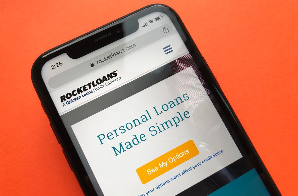 RocketLoans Personal Loans Website