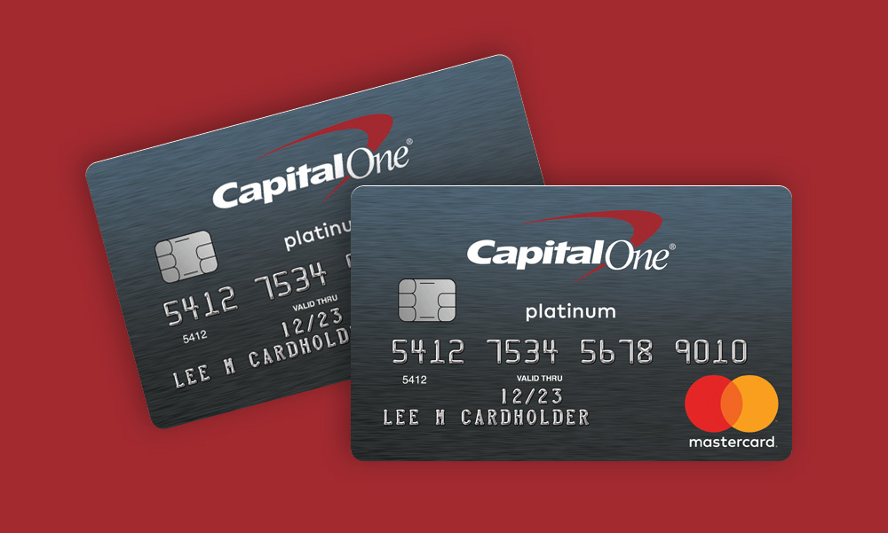 Secured Mastercard from Capital One