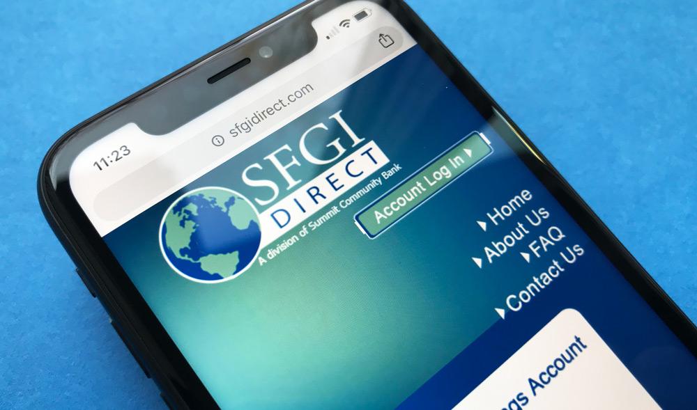 SFGI Direct iPhone Website