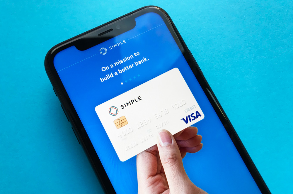 Simple Checking Account App