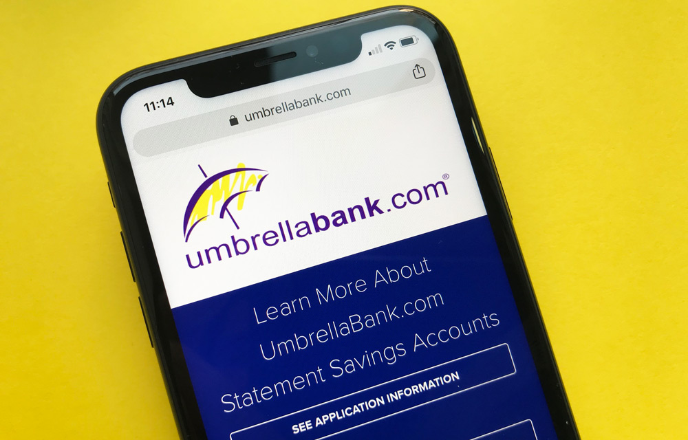 UmbrellaBank Statement Savings