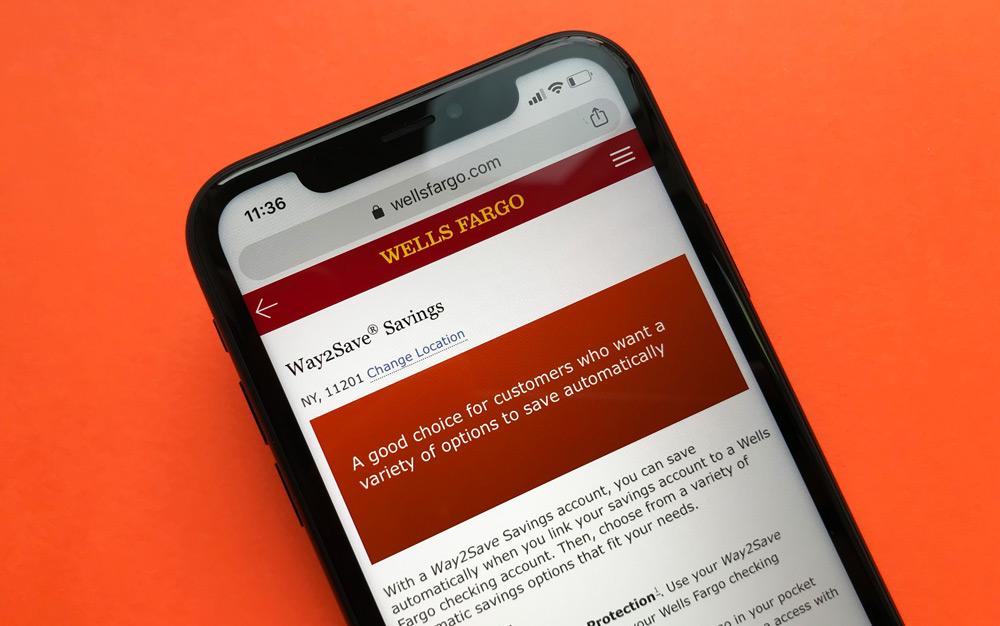 Wells Fargo Savings Account Website