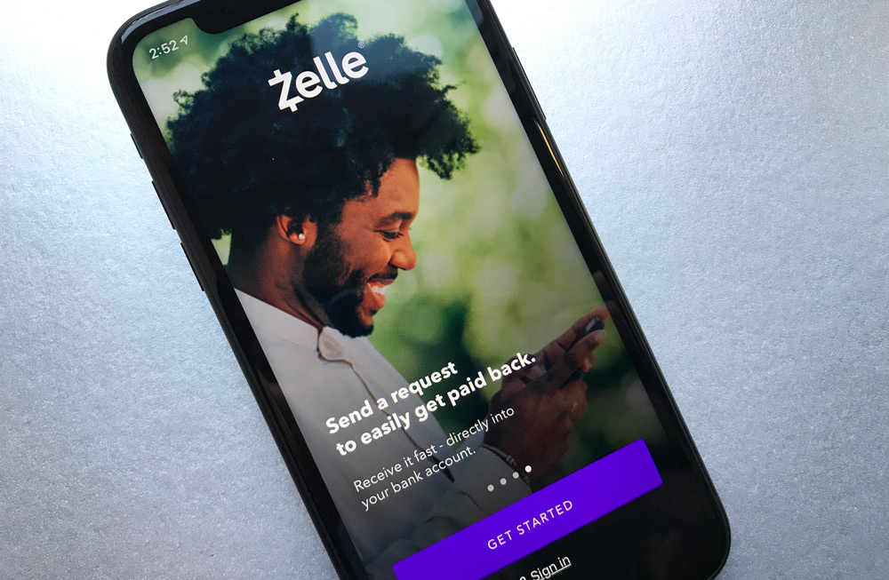 Zelle iPhone App