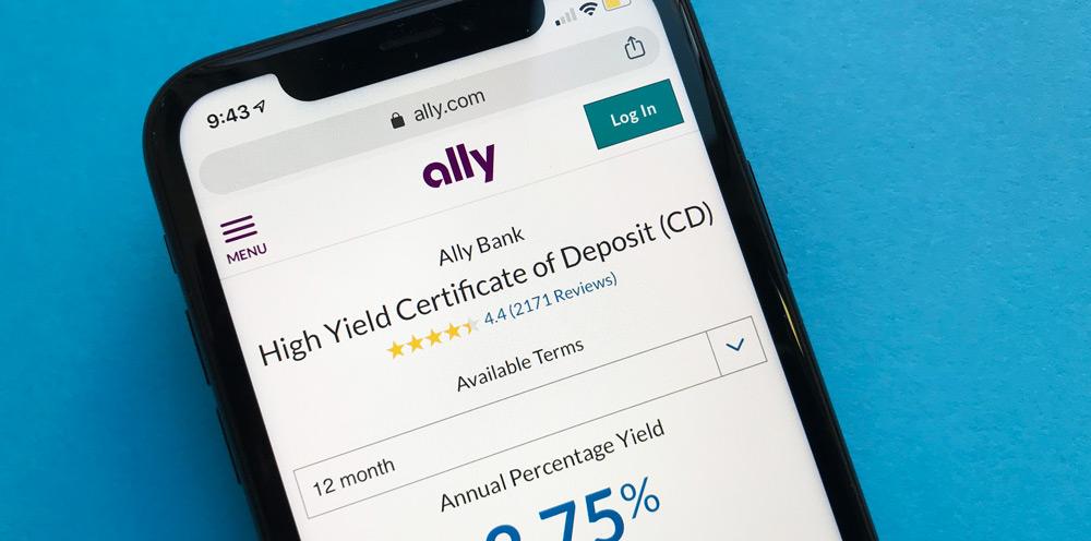 Ally Bank  CDs