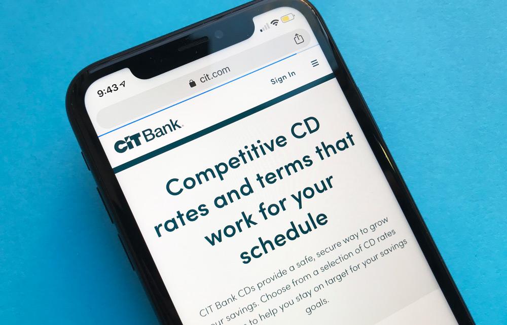 CIT Bank CD Accounts