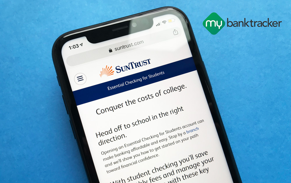 Suntrust Bank Student Checking Account