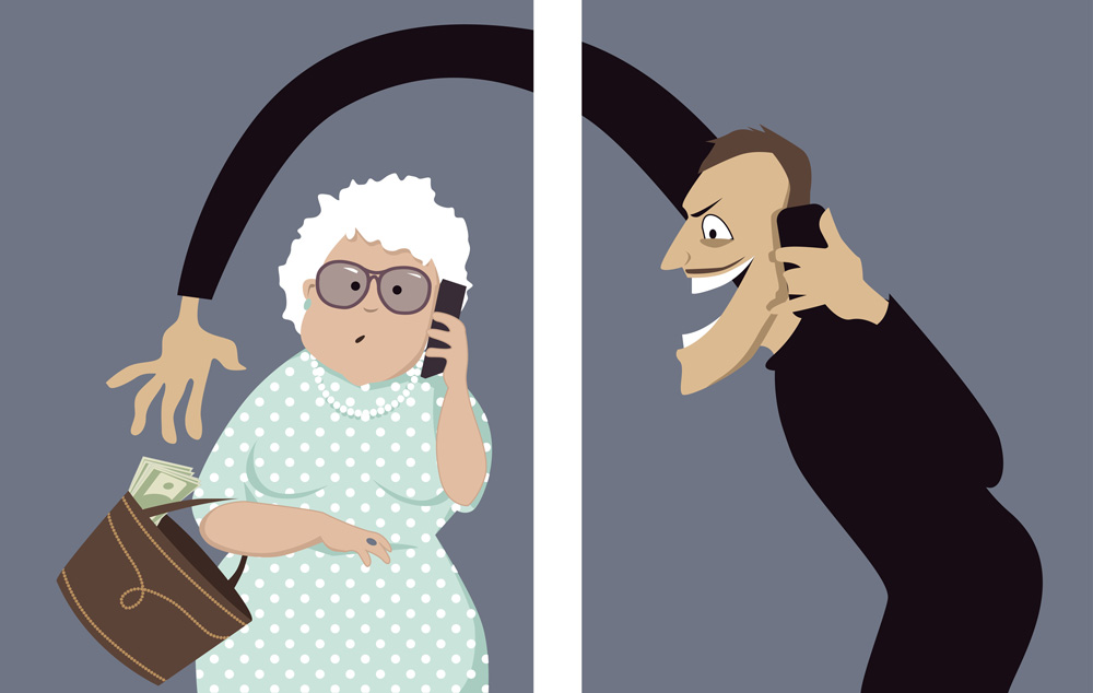 senior scammers