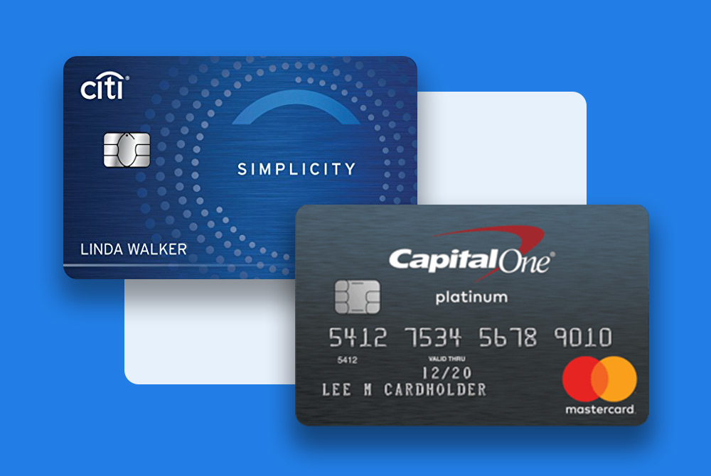 Capital One Platinum vs. Citi Simplicity Card: Which is Better