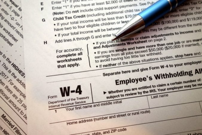 New W 4 Irs Tax Form For 2021 How It Affects You