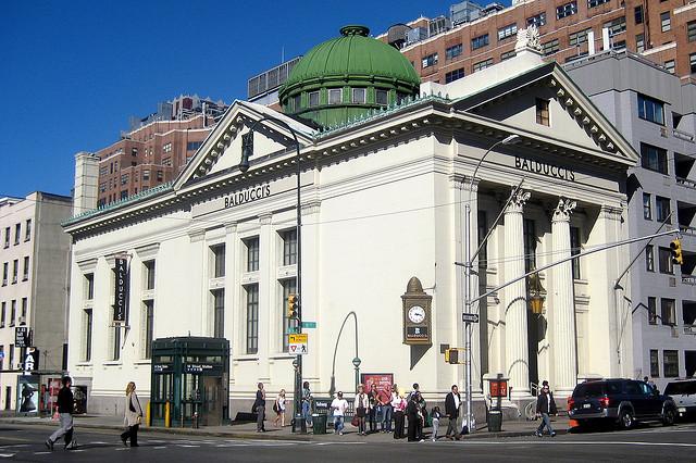New York Savings Bank, now CVS (81 Eighth Ave.)
